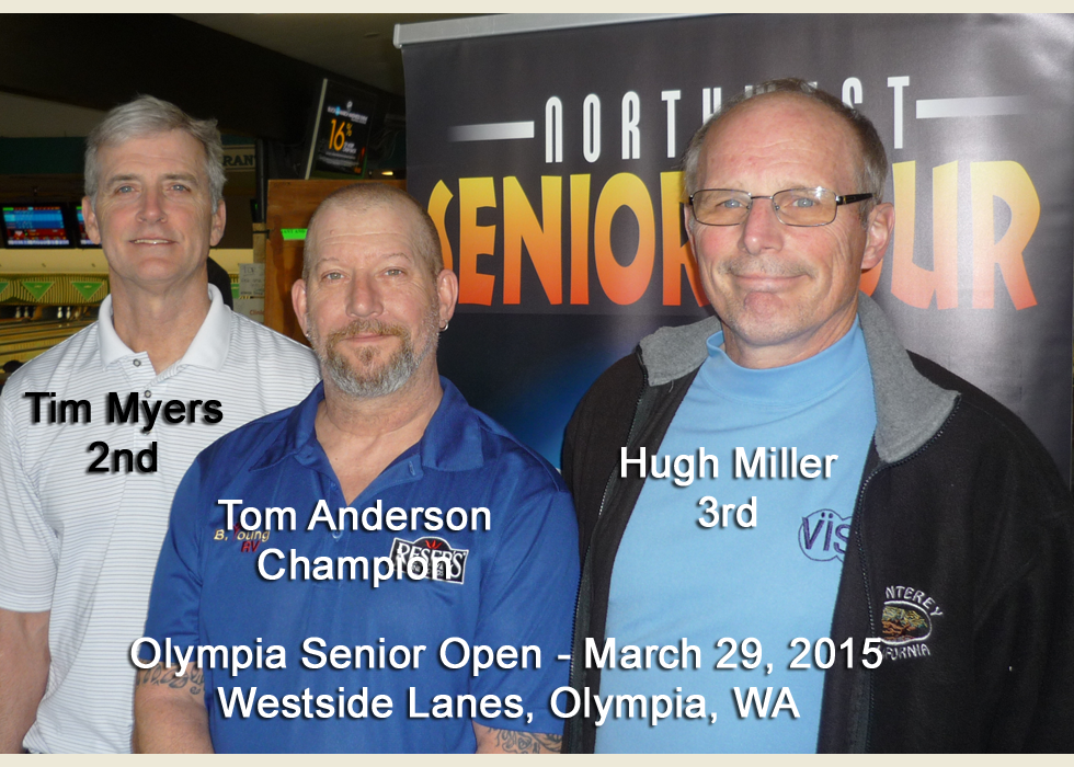 Olympia Senior Open, March, 2015